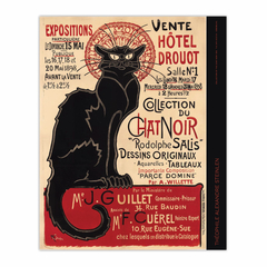 Collection of the Chat Noir (Collection du Chat Noir) (8×10)
