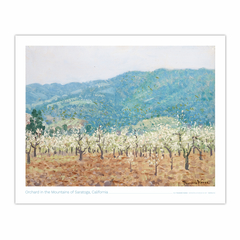 Orchard in the Mountains of Saratoga, California (8×10)