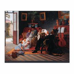 Scene of Adolfo Pinto's Family (8×10)