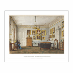 A Salon in a Residence of the Duke of Leuchtenberg (16×20)