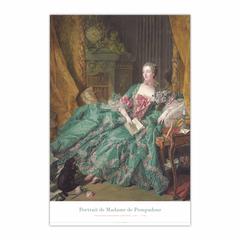 Portrait of Madame de Pompadour (1721-1764) (Portrait de Madame de Pompadour)
