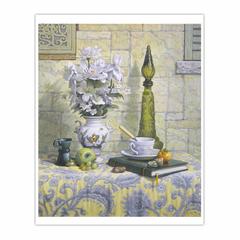 Nature morte au vase Moustier (16×20)