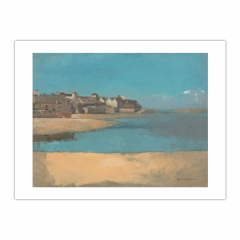 Village by the Sea in Brittany (12×16)