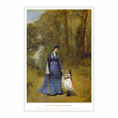 Madame Stumpf and Her Daughter (12×18)