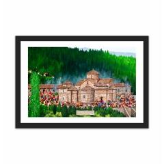Ι.Μονή Αγάθωνος / Agathonos Monastery  (12×18)