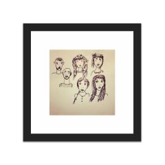 Faces (10×10)