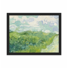 Green Wheat Fields, Auvers (12×16)