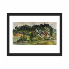 Lithuanian village (12×16)