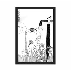 In the garden (12×18)