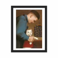 Dressing the Cat II (12×16)
