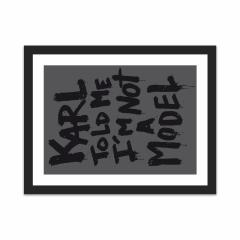 Karl told me (12×16)