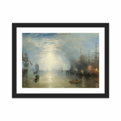 Keelmen Heaving in Coals by Moonlight (12×16)
