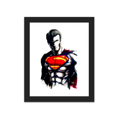 Superman shadow (8×10)