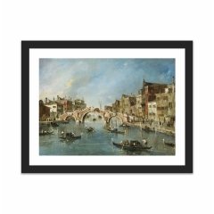 View on the Cannaregio Canal, Venice (12×16)
