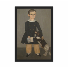 Young Boy with Dog