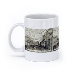 Cobbled Garden (11oz, White)