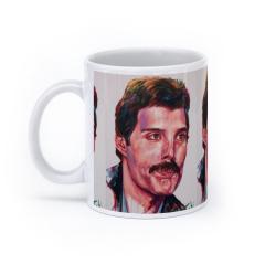 Freddie Mercury (White)