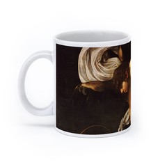 The Inspiration of Saint Matthew (11oz, White)
