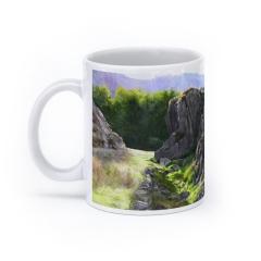 Outcrop, Snowdonia (White)