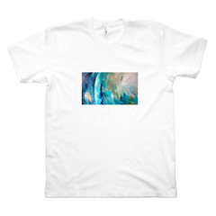 Heavenly Being, 40 x 70 cm, oils, 2012 AZ/Tsh. (M, White)