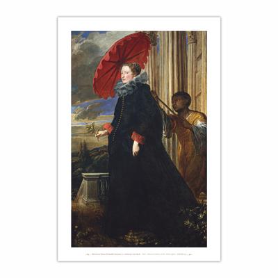 Marchesa Elena Grimaldi Cattaneo (12×18)
