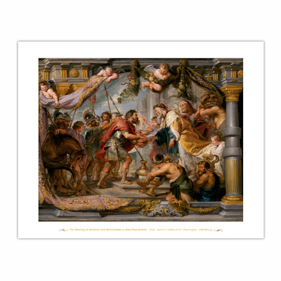 The Meeting of Abraham and Melchizedek (8×10)