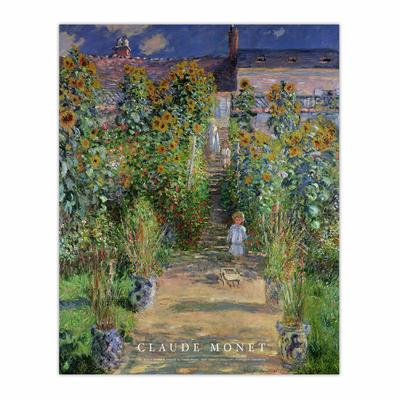 The Artist's Garden at Vétheuil (8×10)