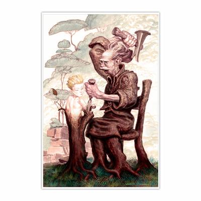 Pinocchio (12×18)