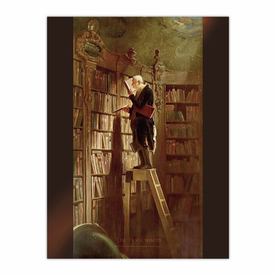 The Bookworm (12×16)