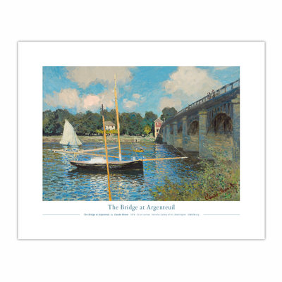 The Bridge at Argenteuil (8×10)