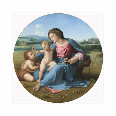 The Alba Madonna (12×12)