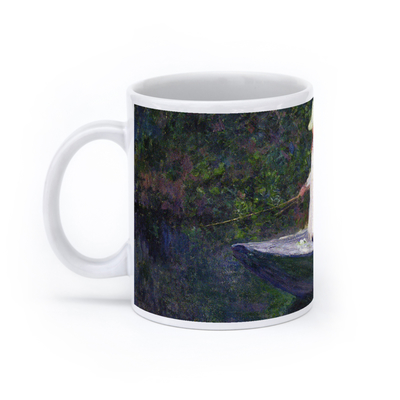 En Norvégienne: La barque à Giverny (In Norway: The Boat at Giverny) (11oz, White)
