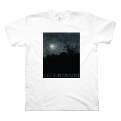 Moonlight Scene, Houses in Background (M, White)
